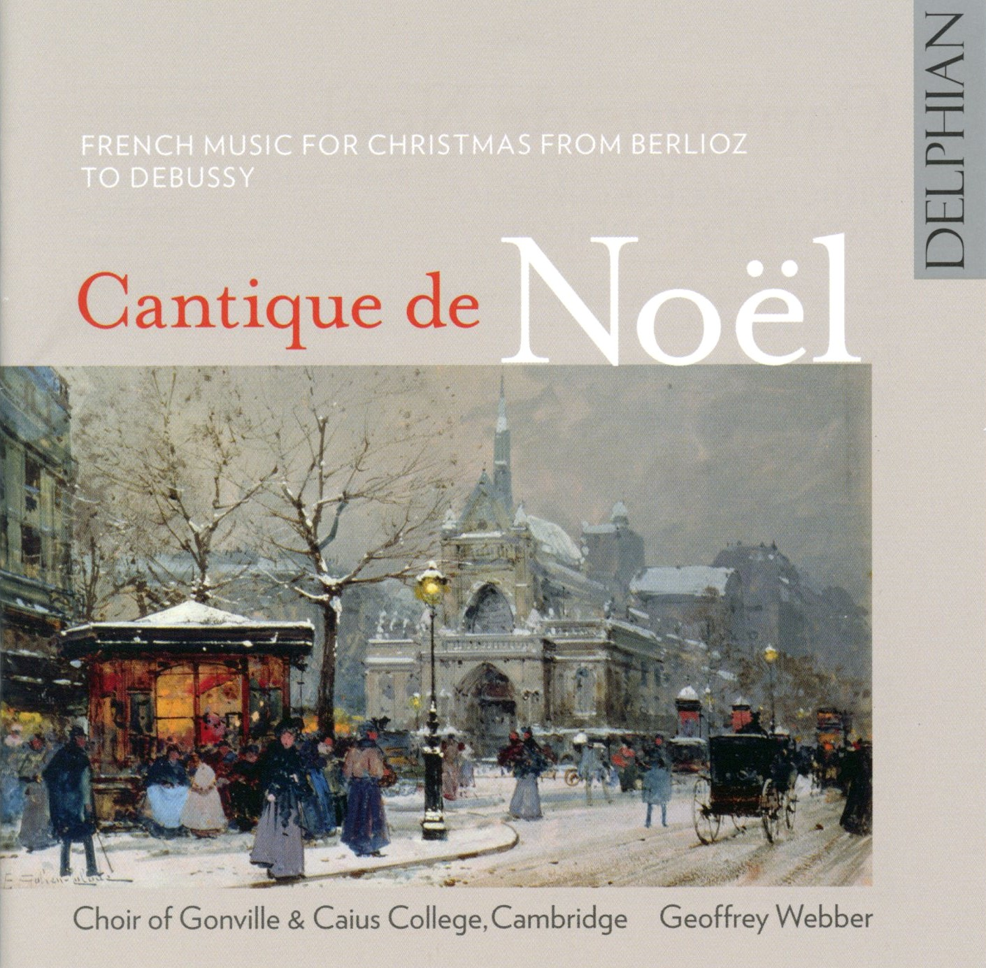 Cantique de Noel CD