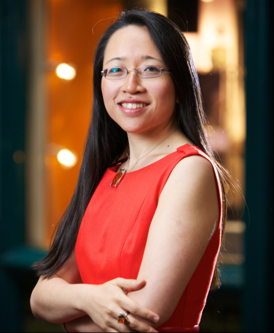 Photograph of Dr Eugenia Cheng