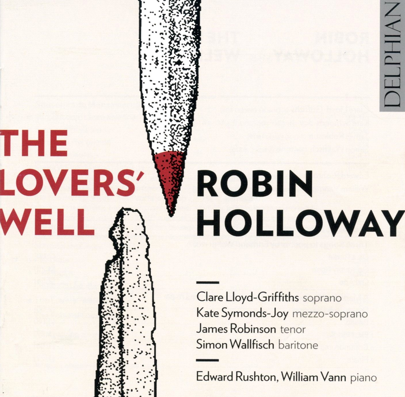 The Lovers' Well Robin Holloway CD image