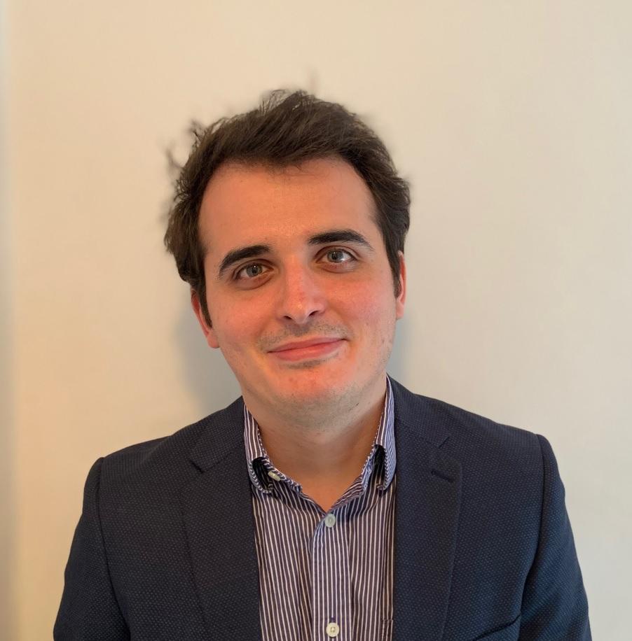 A portrait photo of Nicolas Bell-Romero