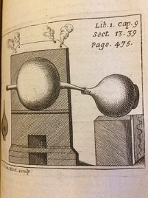 Plate of heating chamber
