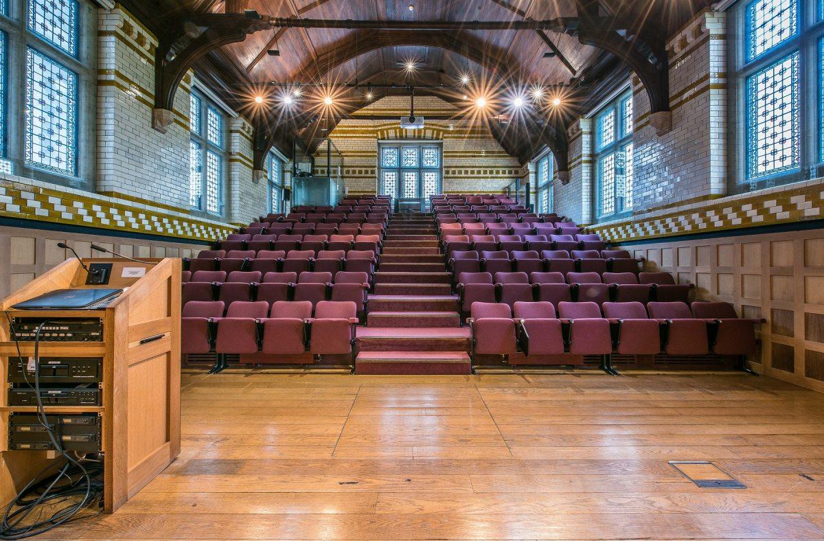 Bateman Auditorium - front perspective