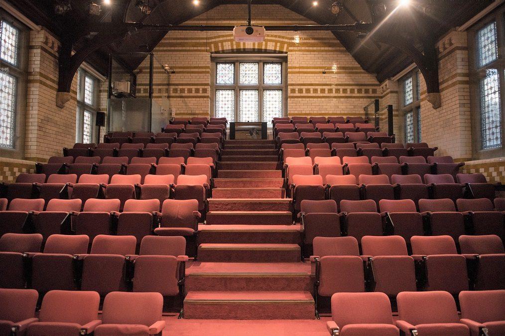 Bateman Auditorium - tiered theatre seating