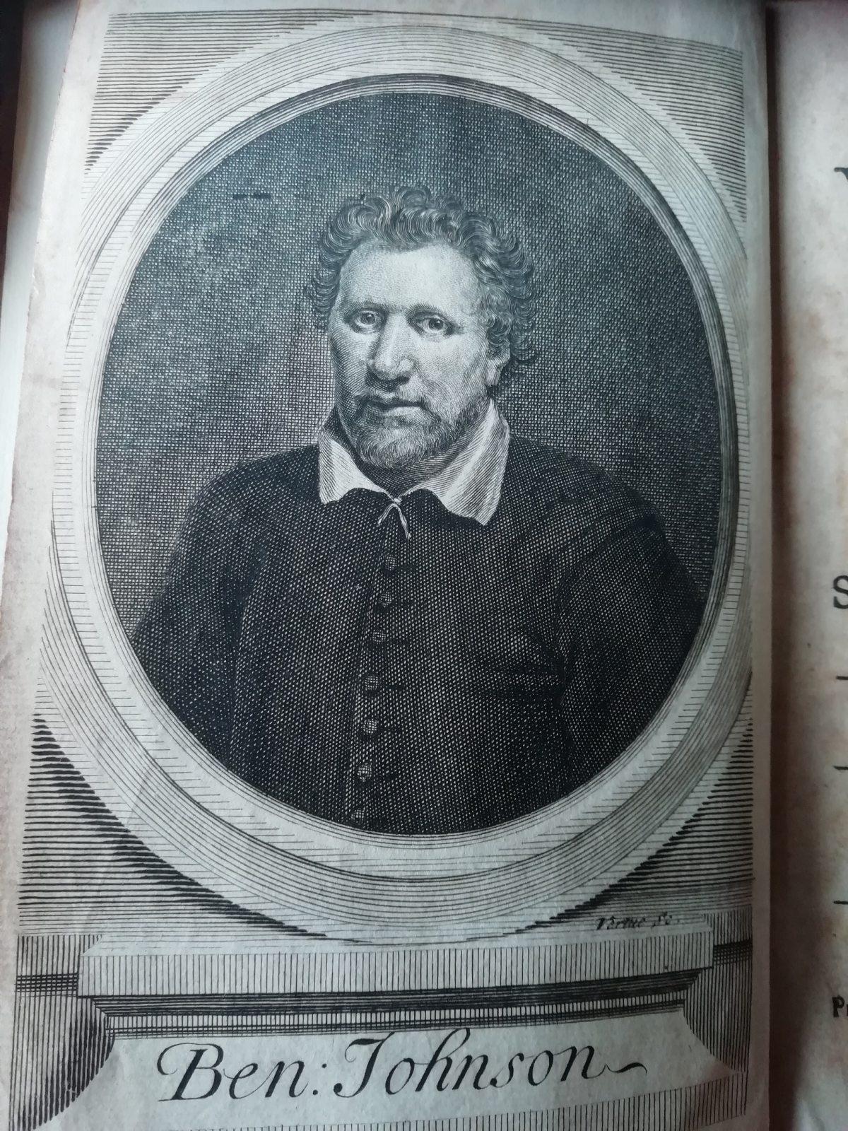 Ben Johnson portrait