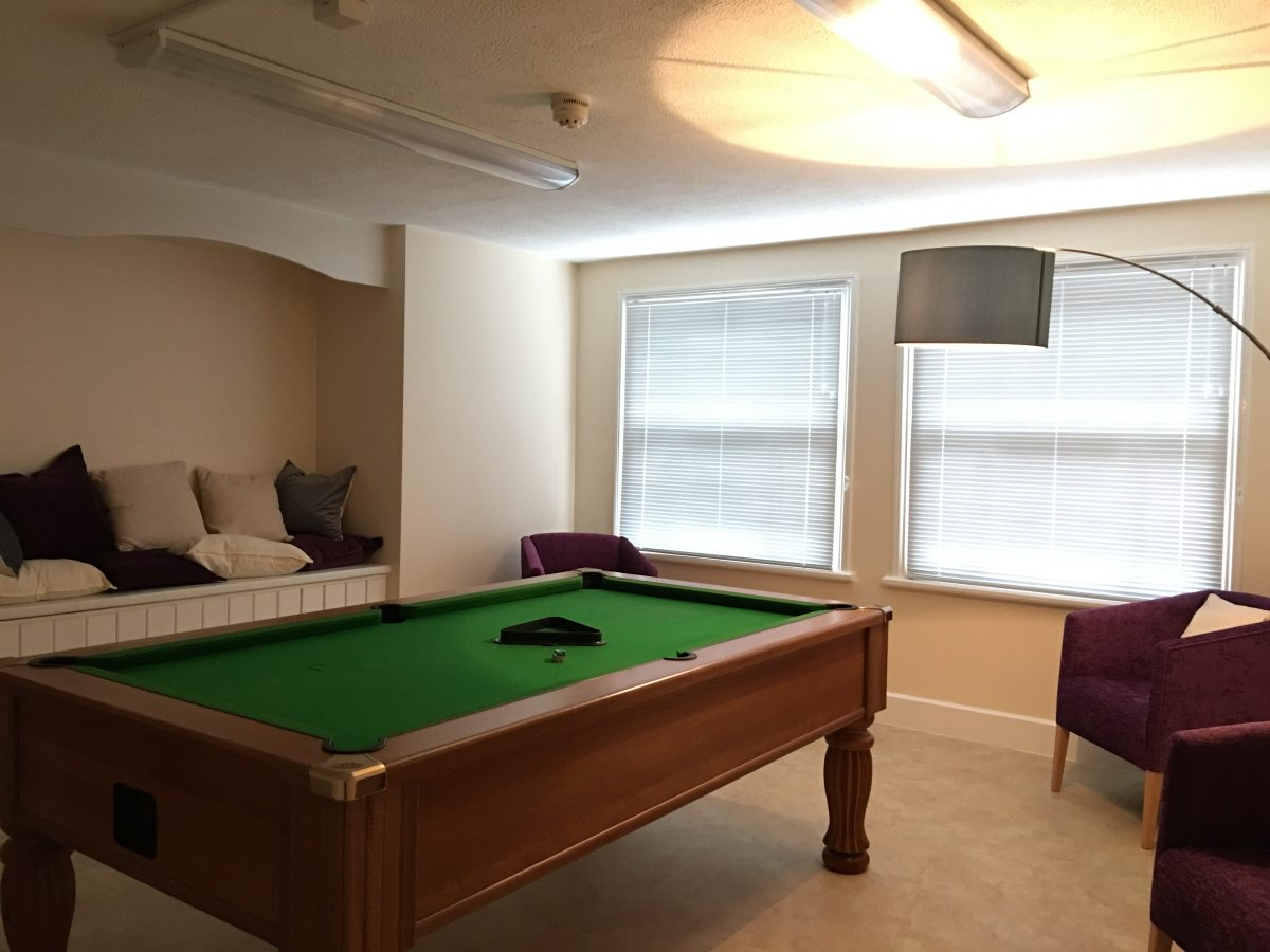 Pool room, Caius MCR, 6 Harvey Road