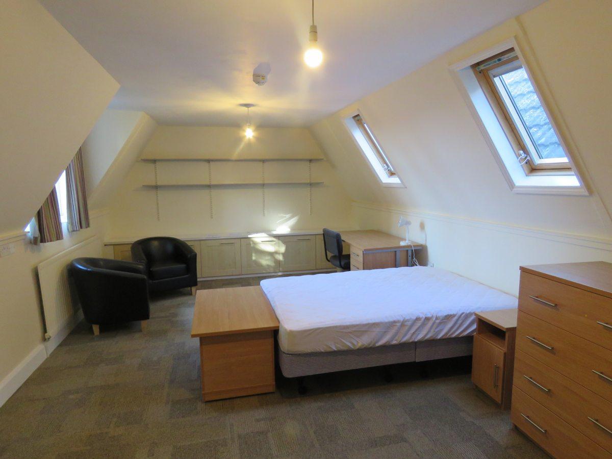 Attic bedroom, 12 Harvey Road